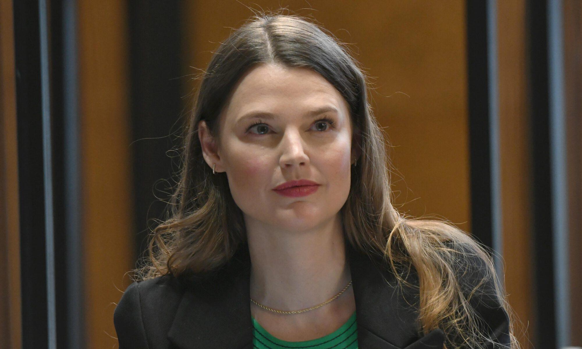 Lisa Maria Otte in der Bürgerschaft